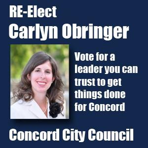 Re-elect For Carlyn Obringer