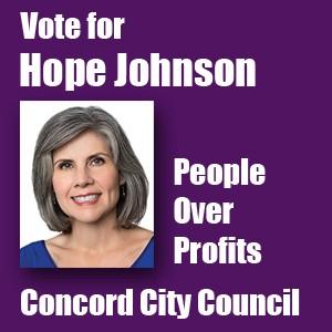 Vote For Hope Johnson
