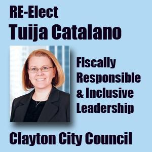 Re-elect For Tuija Catalano