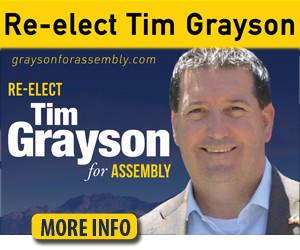 Tim Grayson for CA Assembly